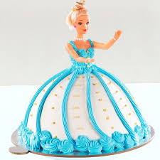 Heavenly Barbie Fondant Cake Box Of Cake