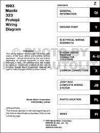 similiar 1993 mazda protege electrical wiring diagram keywords 1993 mazda 323 and protege wiring diagram manual original