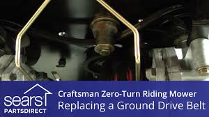 how to replace a craftsman zero turn riding mower ground drive bobcat zt 225 specs at Bobcat Zt225 Zero Turn Mower Wiring Diagram