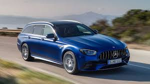 I want a car that looks good, has gobs of power, can tackle snow covered mountain roads with room for dogs, kids and cargo in back. 2021 Mercedes Amg E63 S Sedan Wagon Debut Fresh Faces And Tech