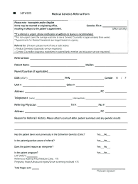 Referral Form Template Word Referral Form Template 8 Sample Counseling Referral Forms Dental