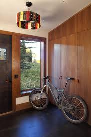 Front Door, Cupboards, Modern Log Cabin in Telluride Colorado