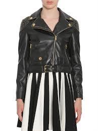 women clothes studded biker jacket mmkmgug