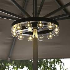battery patio lights operated hanging umbrella light led pole at big lots powered string