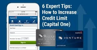 Asking For Credit Line Increase 6 Expert Tips How To Increase Credit Limit Capital One