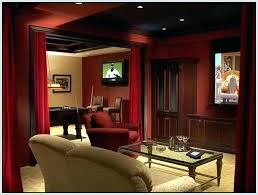 dark media room. Dark Media Room. Plain Room Colors Red Color Wonderful Living Idea Chic P