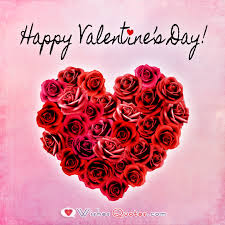 Valentines Day Quotes For Her Mesmerizing Valentine's Day Messages For Her