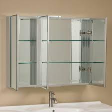 Clairement Series Aluminum Tri View Medicine Cabinet Medicine