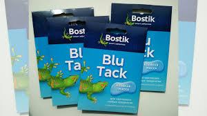 <b>Клейкая масса bostik blu</b> tack купить в Санкт-Петербурге | Хобби ...