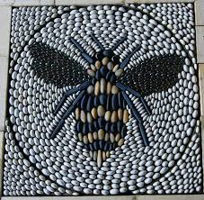 Mosaic Design Stunning Bee Mosaic Design Used As A Garden Feature By