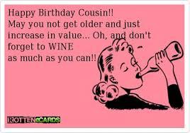 Cousin Birthday Quotes Impressive Cousin Birthday Ecard Quotesta
