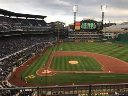 Pnc Park Section 211 Home Of Pittsburgh Pirates