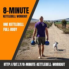 simple 8 minute kettlebell workout full