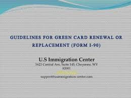 i 145 immigration form guidelines for green card renewal or replacement form i 90 by