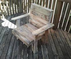 wood pallet patio furniture. Simple Furniture Pallet Deck Chair Intended Wood Patio Furniture