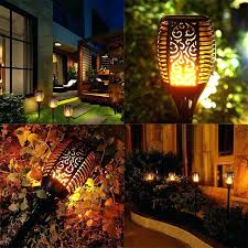 tiki lighting. Tiki Lighting. Solar Lights Light Garden Lamp Path Torches Dancing  Flame Lighting Led Flickering