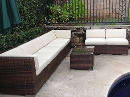 patio furniture for small patios. Ohana Wicker Furniture Outdoor Patio Deep Seating Set In Mixed Brown / Depot For Small Patios