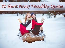 Funny Friendship Quotes Beauteous 48 Short Funny Friendship Quotes