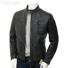 ing pattern designer mens leather jacket