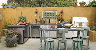 Alfresco Outdoor Kitchens Dine Alfresco At Home Spectacular Outdoor Kitchen Ideas