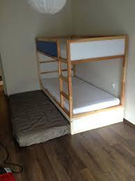 modern triple bunk beds fresh luxury full loft bed than inspirational ideas combinations ikea instructions kura