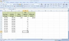 Gas And Mileage Calculator Tirevi Fontanacountryinn Com