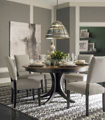 11 bassett dining room set custom dining 60 round pedestal table by bassett furniture contemporary dining