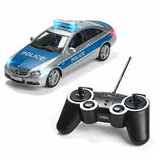 Remote Control Police Car With Working Lights And Siren Mercedes Rc Remote Control Police Car Radio Control With Lights And Siren