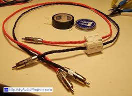 speakers that use rca cables. finished diy interconnect rca cables speakers that use rca