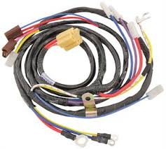 engine wiring harness all w ignition switch to engine 1959 cadillac