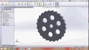 Ratchet Mechanism Design Solidworks Ratchet Wheel Mechanism Design Tutorial Part 1