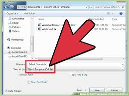 Ms Office Word Template 4 Easy Ways To Add Templates In Microsoft Word Wikihow
