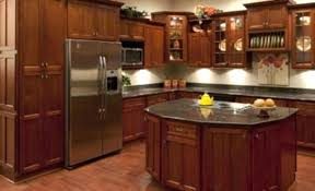 cherry shaker cabinet doors. Cherry Shaker Cabinets Partial Overlay Kitchen Photos Wood Style . Cabinet Doors