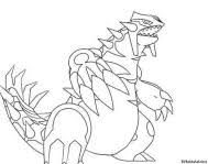 Groudon Pokemon Coloring Page Free Printable Coloring Pages Home