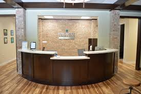 bow front reception counter office office tour kingwood orthodontics beautiful small office desk