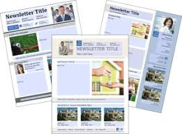 Free Download Newsletter Templates Free Real Estate Download Newsletter Templates Premier Agent
