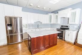 photo of mass tile needham ma united states jsi white shaker kitchen
