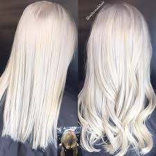 Platinum Hair Color White Hair White
