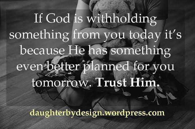 status on god trust