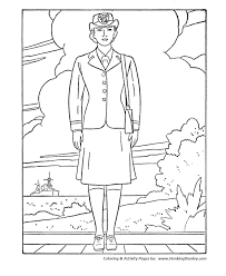 Small Picture Veterans Day Coloring Pages Navy Female Veterans Coloring Page