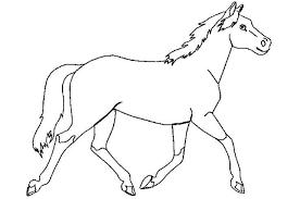 Paardenhoofd Kleurplaten Makkelijk Paard Kleurplaat Google Zoeken