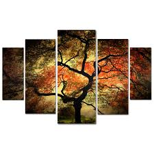 ... Sainte Laudy Multiple Canvas Wall Art Philippe Trademark Fine Japanese  Panel Adorable Tree Picture Painting Oil ...