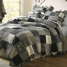Quilts, Quilt Sets, and Coverlet Bedding | Touch of Class & Paris Patch Quilt Black Adamdwight.com