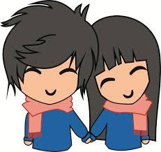 1072x1012 cute couple by rendyep