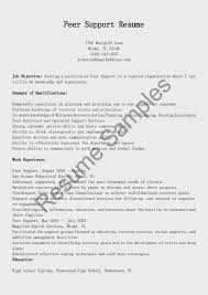 Psw Sample Of Resume And Reconciliation Specialist Sample Resume Download Family Support