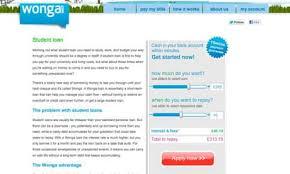 Warning over Wonga's 'predatory' student loans offer | Money | The ...