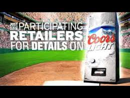 Coors Light Vending Machine Magnificent Coors Light Refresherator NESN