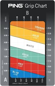Golf Club Fitting Chart Golf Club Fitting Chart Inspirational New Ping Color Code