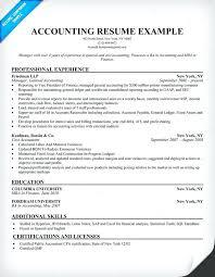 Accountant Resume Sample Resume Sample Resume Examples Best Resume