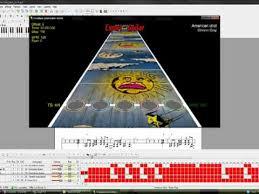 Guitar Hero Charts Guitar Hero 3 Making Chart Files With Guitar Pro Youtube